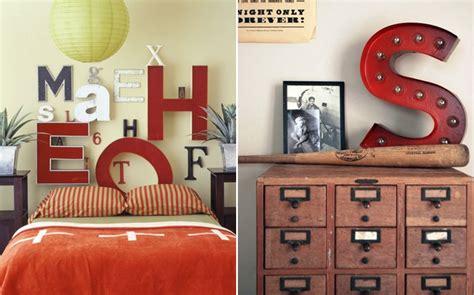 letras home decoracion letras vintage en la decoraci 243 n bricodecoracion
