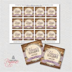 favor tags rustic bridal shower thank you by digibuddhapaperie
