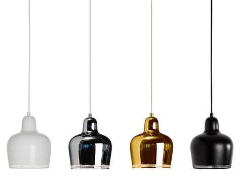 Modern Lighting Fixtures by Pendant Lamp A330s Golden Bell Hivemodern Com