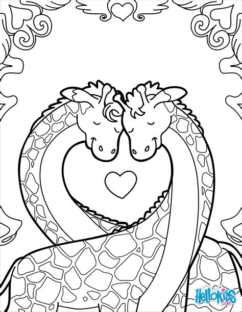 In Coloring Book giraffes in coloring pages hellokids
