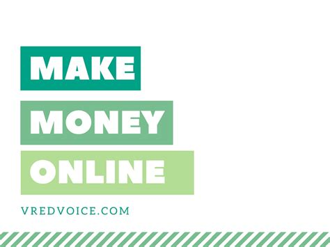 how to make extra money from home fast through online vredvoice - Google Make Money From Home Online