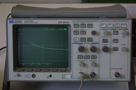 filter capacitor oscilloscope experiment no 2 digital oscilloscope rc circuit
