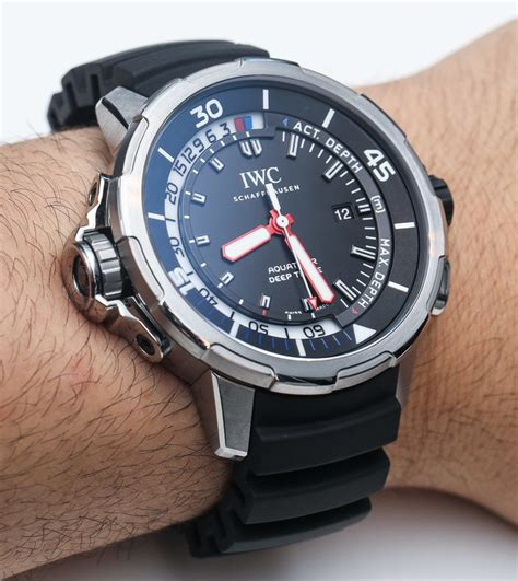 iwc dive watches iwc aquatimer three depth on page
