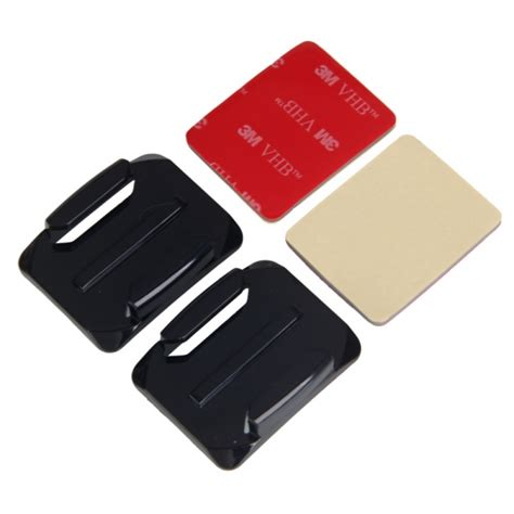 Adhesive Pads For Gopro 3m Vhb 2pcs curved surface mounts with 3m vhb adhesive pads for gopro 3 2 1 alex nld