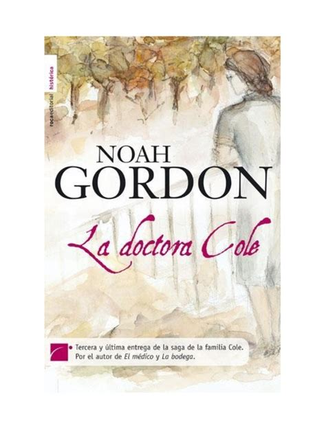 la doctora cole 8415729278 la doctora cole noah gordon