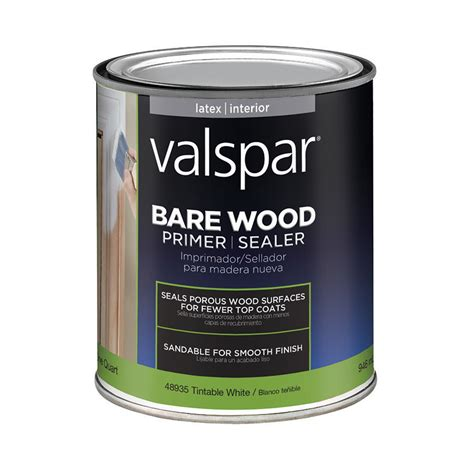 Interior Wood Primer by Shop Valspar Interior Primer Actual Net Contents