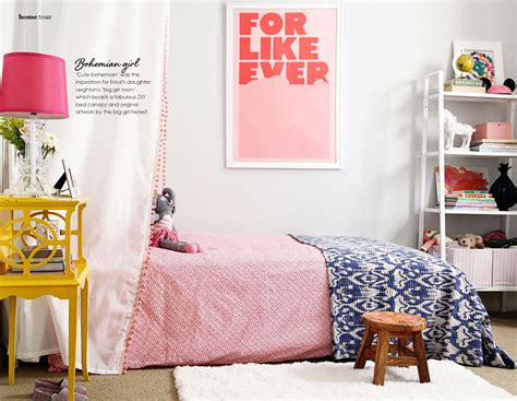 bohemian girls bedroom cute bohemian bedroom interiors by color