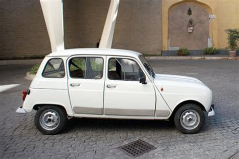 renault 4 pope pope gifted 20 year renault by priest