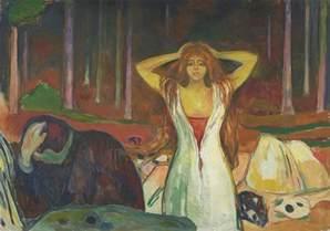 Bed Dance Edvard Munch 183 Sfmoma