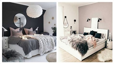 cozy bedroom ideas with color theme modern bed