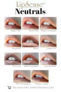 senegence lipsense color chart lipsense color and gloss chart