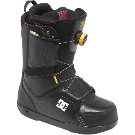 scout boats dc dc scout boa snowboard boot men s