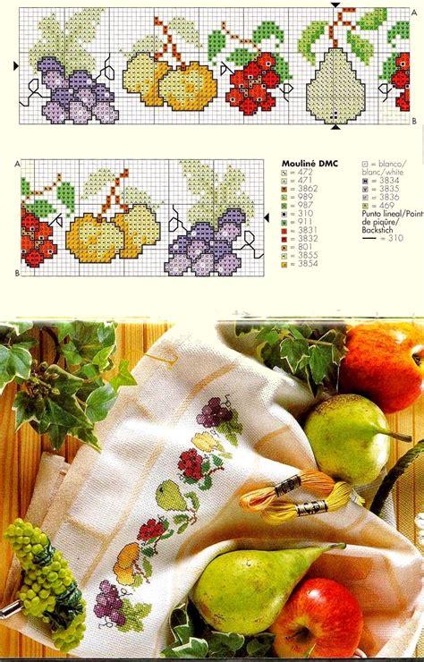 punto croce in cucina ricami e schemi a punto croce gratuiti schemi per