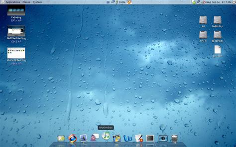 osx top bar osx having a mac os x like dock and menubar experience