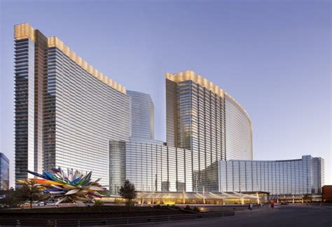 design concept las vegas the aria resort casino design by pelli clarke pelli