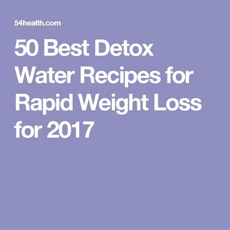Detox And Weight Loss Center by Best 25 Weight Loss Water Ideas On Weight