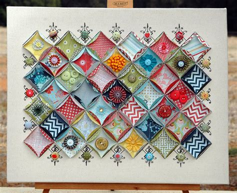 How To Make A Paper Quilt - thepaintbrushgoesspottie basic grey