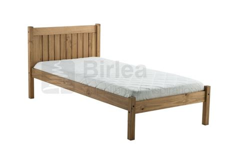 Birlea Rio 3ft Single Pine Wooden Bed Frame By Birlea Single Wooden Bed Frames Uk