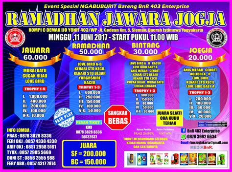 Protector Jawara 1 ramadhan jawara jogja