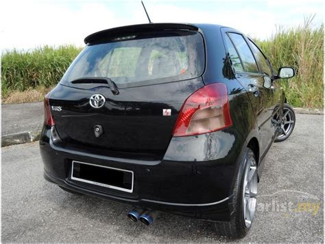 toyota yaris 2007 s sporty 1 5 in penang automatic hatchback black for rm 35 800 3254862