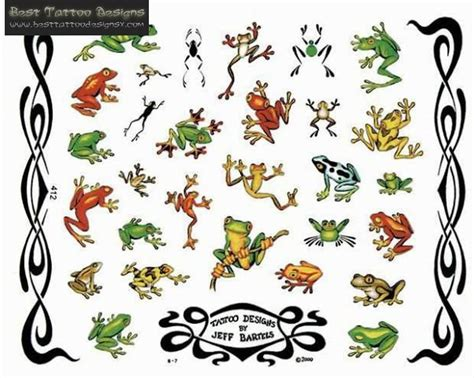 8 latest frog tattoo designs and ideas
