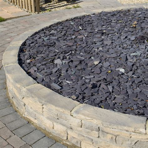 blue slate chippings 40mm landscaping specialised