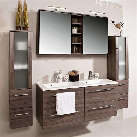 badezimmer doppelwaschbecken badezimmer kombination cariola in eiche dunkel wohnen de