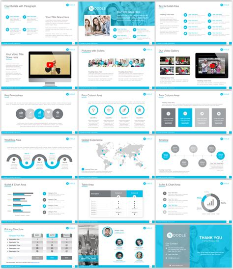 powerpoint layout geschichte elegant serious powerpoint design for the noodle