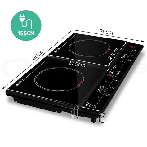 portable ceramic cooktop 5 chef electric induction cooktop portable kitchen