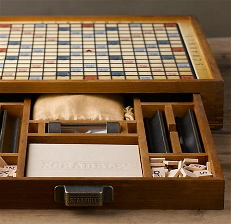restoration hardware scrabble scrabble coffee table crafts