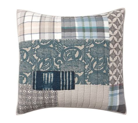 Next Patchwork Bedding - malibu patchwork quilt sham pottery barn