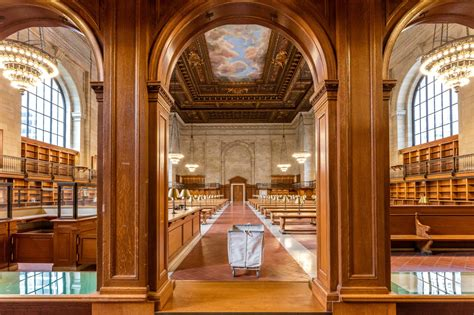 building a library room photos after two year renovation nypl s historic rose
