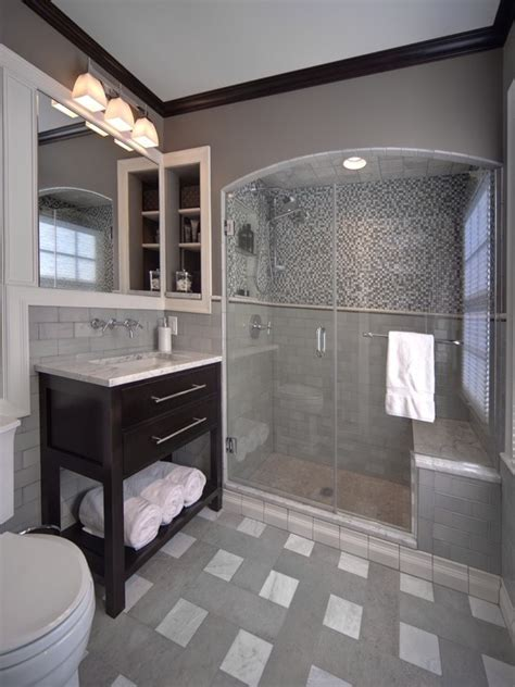 small gray bathroom ideas 29 gray and white bathroom tile ideas and pictures