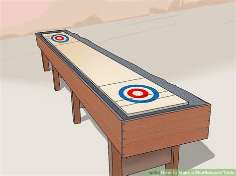 how is a shuffleboard table how to a shuffleboard table with pictures wikihow
