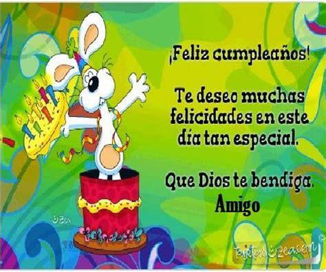 imagenes de feliz cumpleanos amigo querido tarjeta de feliz cumplea 241 os para un amigo querido