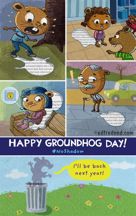 groundhog day years groundhog day illustrations through the years on risd