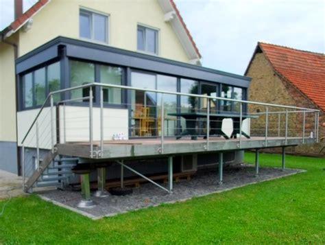 überdachung terrasse metall terrasse metal concept escalier ferronnerie d