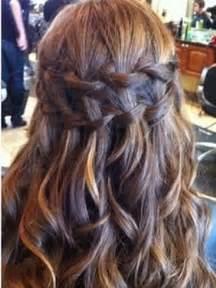 long hair formal styles down image