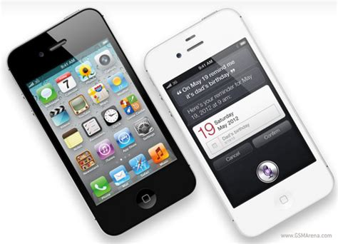 Hp Iphone 4 Gsm apple unveils iphone 4s with dual cpu and 8mp gsmarena news