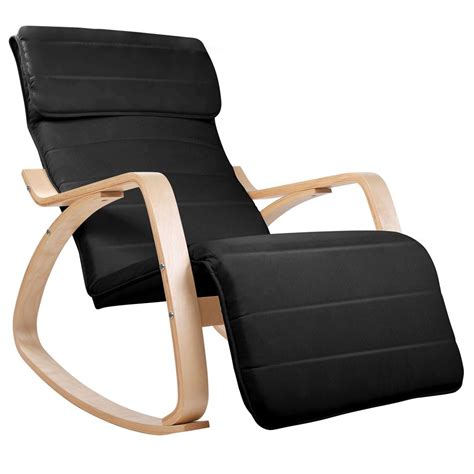 Adjustable Recliner by Birch Plywood Adjustable Rocking Recliner Lounge Arm Chair