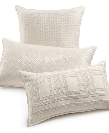 macys bed pillows hotel collection radiant decorative pillow collection