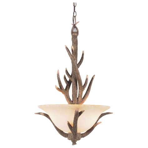 Antler Light Fixture Trans Globe Lighting 3 Light Replica Antler Pendant 173560 Lighting At Sportsman S Guide