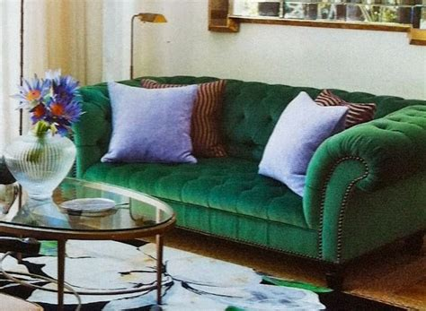 emerald green sofa decora 231 227 o na cor verde