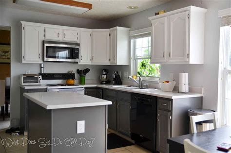 painted kitchen cabinet ideas before and after deductour com