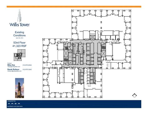 Willis Tower Floor Plan | willis tower floor plans chicago il usa