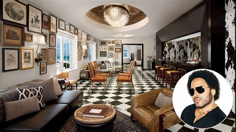 Lenny Kravitz Interior Design by A Touch Of Lenny Kravitz Cool Dramatic Designs By The