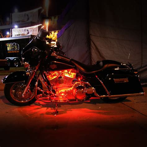 motorcycle underglow led light kit 7 color motorcycle accent led neon light kit underglow 2