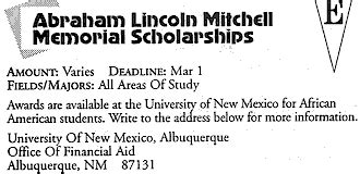 Uncf Mba Scholarship by Memorial Scholarship