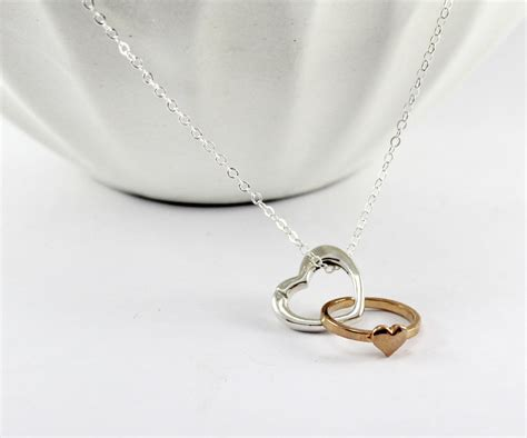 Wedding Ring Keeper by Silver Ring Holder Necklace Wedding Ring Keeper