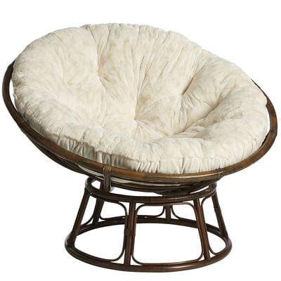 chaise papasan papasan taupe chair frame pier 1 imports